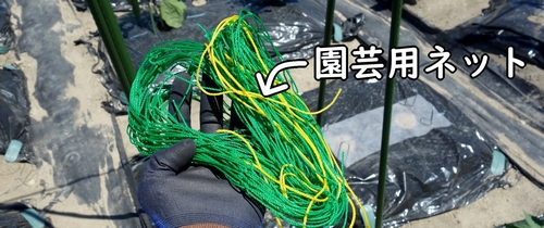 園芸用のネット