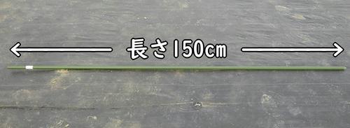 支柱の長さ150cm