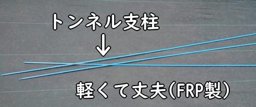 トンネル支柱(ダンポール)